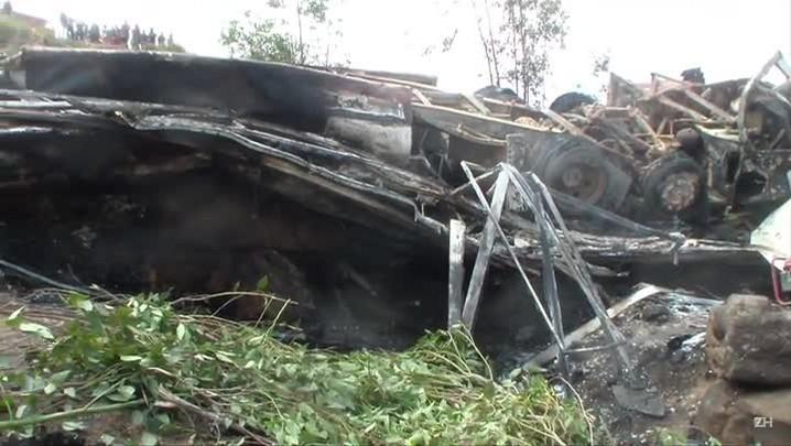 Pelo menos 34 pessoas morrem em acidente de ônibus em Madagascar