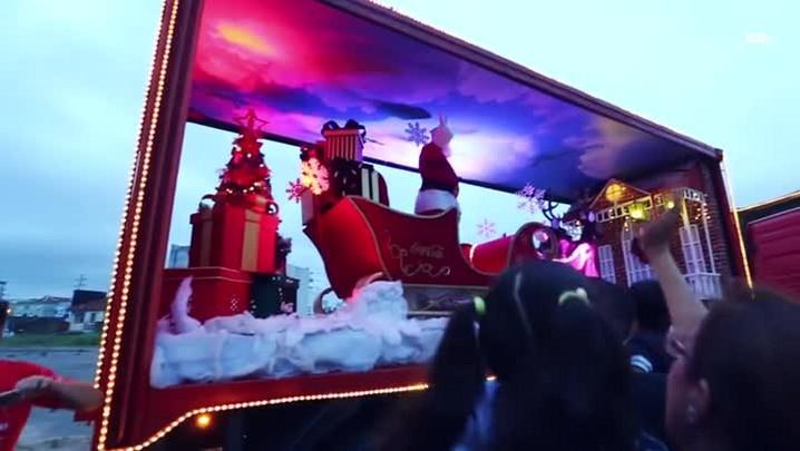 Porto Alegre recebe a Caravana Iluminada de Natal