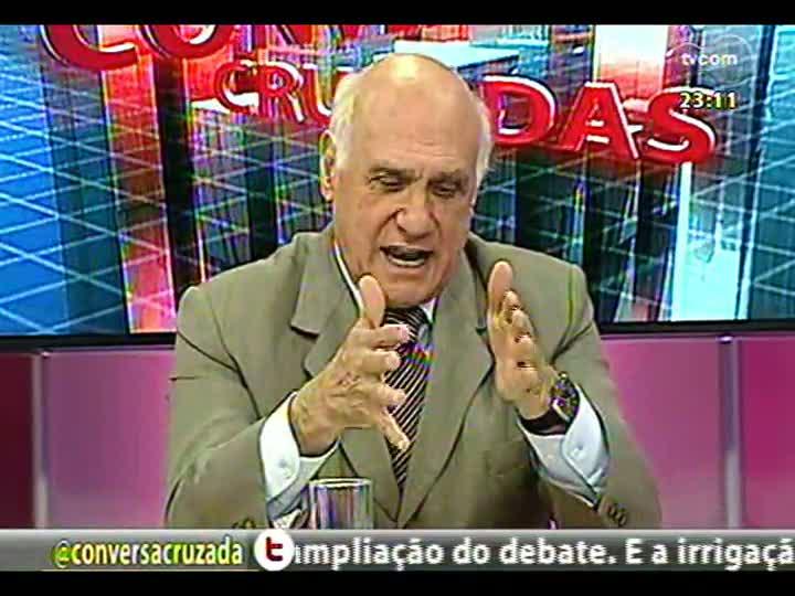Conversas Cruzadas - Ação ilegal no Rio Jacuí - Bloco 4 - 14/01/2013