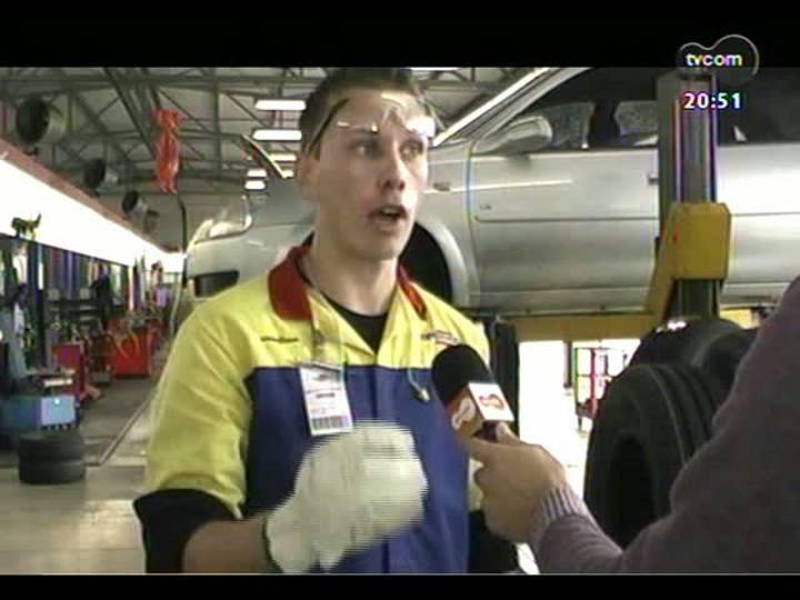 Carros e Motos - ABC do Carro fala sobre pneus e Veja o test drive do Toyota Etios - 10/02/2013 - bloco 3
