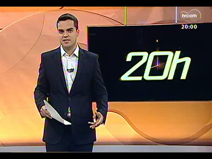 TVCOM 20 Horas - Análise do novo Papa e o perfil da Igreja Católica para os próximos anos - Bloco 1 - 13/03/2013