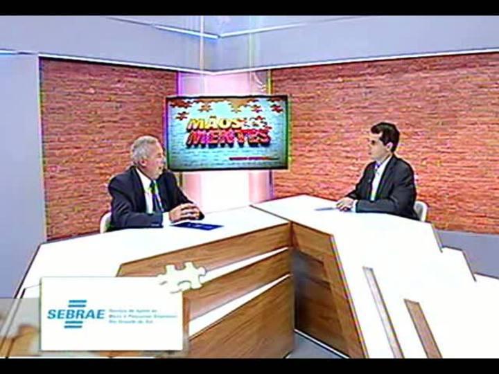 Mãos e Mentes - Administrador da Adesc Brasil, Jorge Hilzendeger - Bloco 1 - 13/03/2013