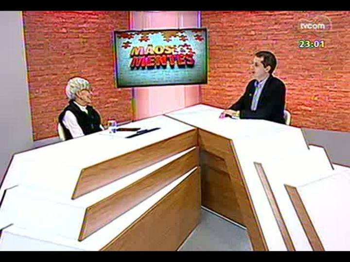 Mãos e Mentes - Presidente da Fundação Theatro São Pedro, Eva Sopher - Bloco 1 - 09/06/2013