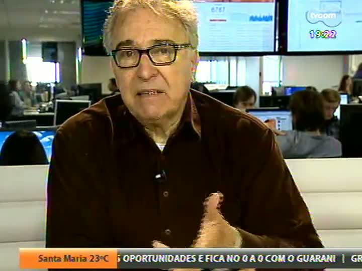 Ruy Carlos Ostermann dá sua opinião sobre a vitória do Brasil na Copa das Confederações - Ruy de Todas as Copas - Liga dos Fanáticos