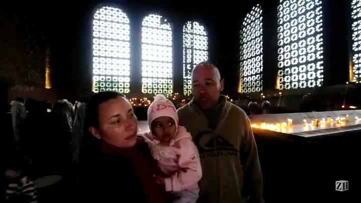 Família relata emoção de receber bênção do Papa