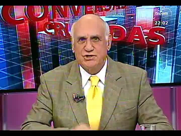 Conversas Cruzadas - Debate a decisão de permitir apenas a torcida do Grêmio no clássico de domingo, na Arena - Bloco 1 - 30/07/2013