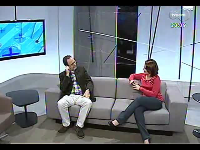 TVCOM Tudo Mais - Bate-papo com professor Luis Augusto Fischer, um dos patronáveis à Feira do Livro de Porto Alegre de 2013