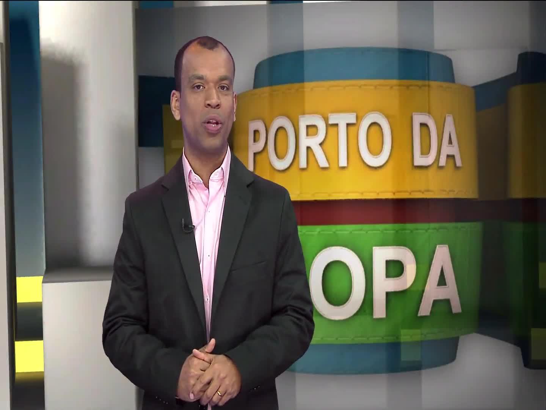 Porto da Copa - Conheça o casal que viaja de moto todo o Brasil para ver de perto os estádios da Copa 2014 - Bloco 3 - 28/09/2013