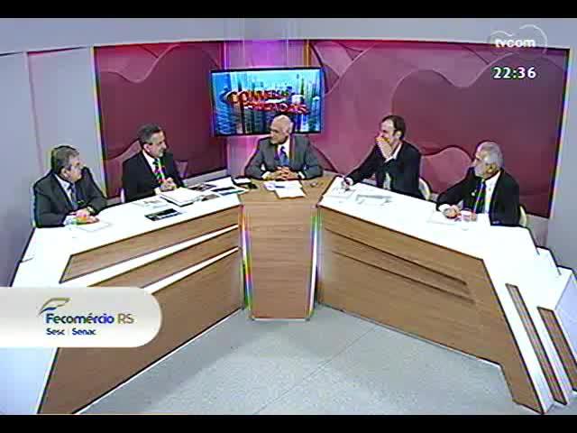 Conversas Cruzadas - Debate sobre o atraso nas obras da Copa - Bloco 2 - 01/10/2013