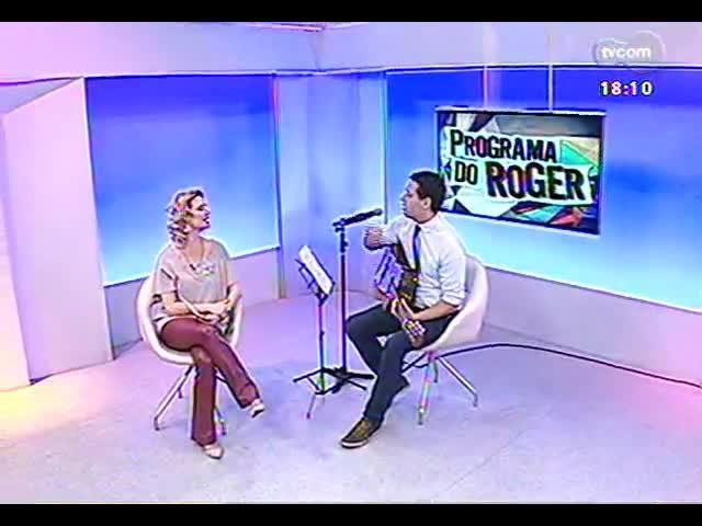 Programa do Roger - Eliminado do The Voice Brasil, Dan Germano faz show - bloco 3 - 29/10/2013