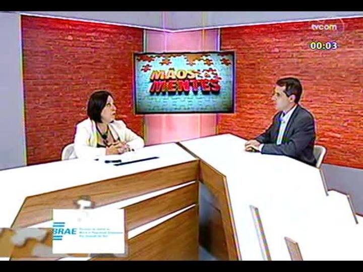 Mãos e Mentes - Coordenadora de rede de nanotecnologia Farmacêutica/Capes, Sílvia Gutteres - Bloco 3 - 19/12/2013
