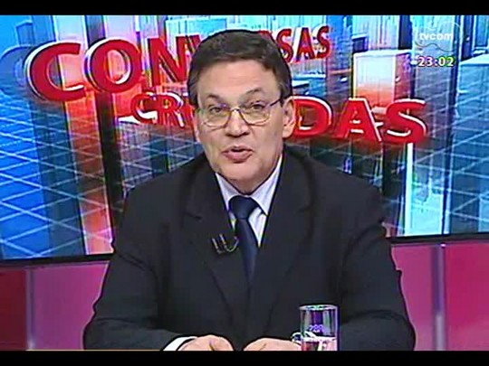 Conversas Cruzadas - O que deve acontecer na disputa judicial sobre o salário mínimo regional dos comerciários? - Bloco 4 - 21/01/2014
