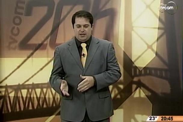 TVCOM 20 Horas - Moacir Pereira fala sobre as eleições - 4º Bloco - 29/09/14