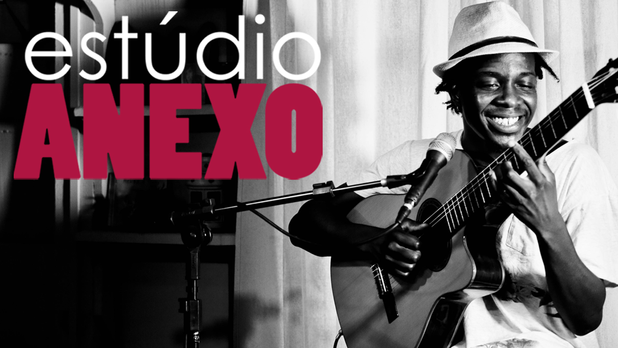 Estúdio Anexo: François Muleka canta suas influências