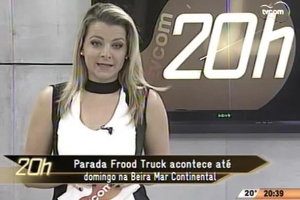 TVCOM 20 Horas - Parada Food Truck acontece até domingo na Beira Mar Continental - 04.06.15