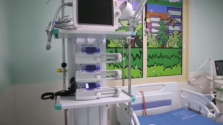 Nova UTI do Hospital da Criança inaugura nesta quarta-feira