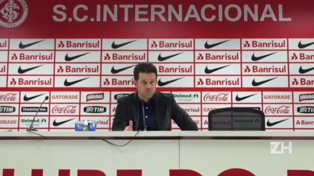 Coletiva: Argel fala sobre a situação de Geferson no Inter