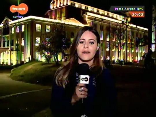 TVCOM 20 Horas - Prefeitura da capital homologa licitação para a revitalização da orla do Guaíba - 25/08/2015