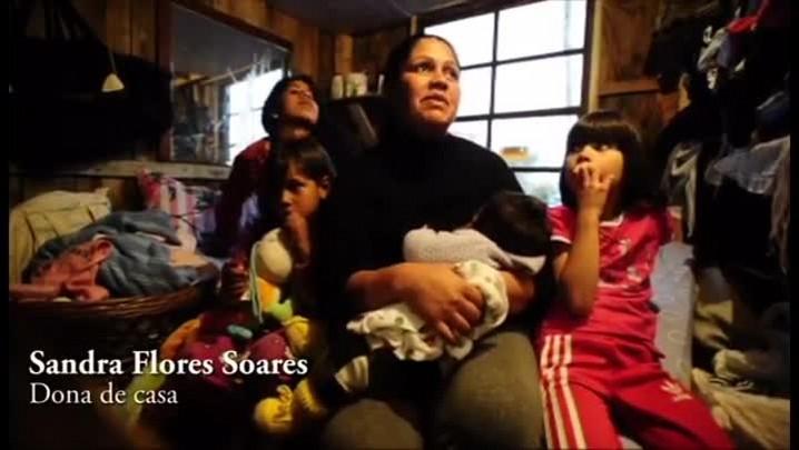 O sonho de Sandra e sua família