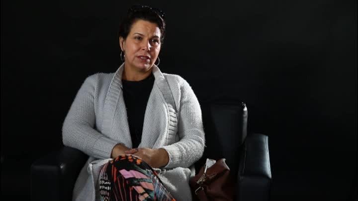 Luciane dos Santos, mãe do surfista Ricardinho, fala ao Diário Catarinense