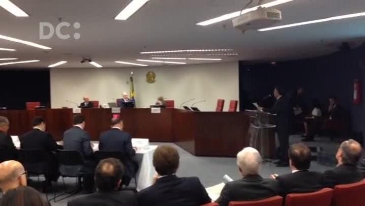 Colombo fala sobre a dívida dos Estados em audiência no STF