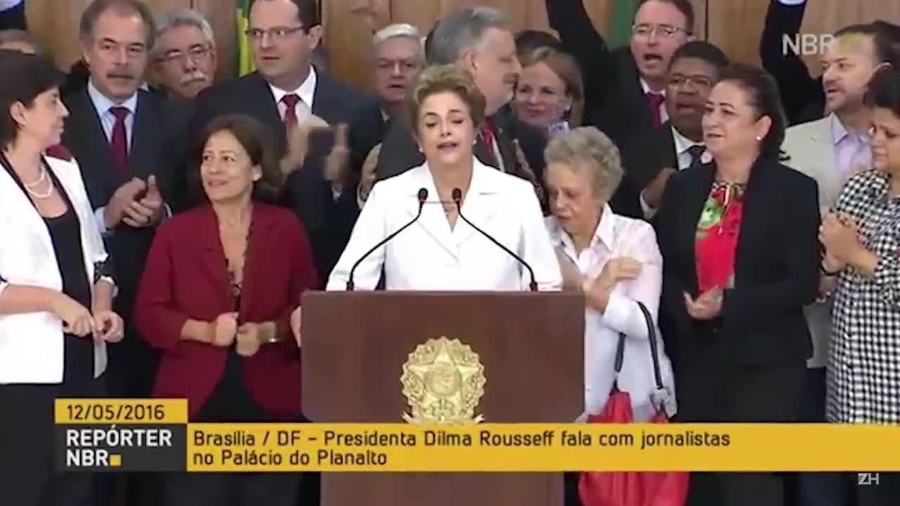 """Dilma Rousseff: \""""Posso ter cometido erros, mas não crimes\"""""""