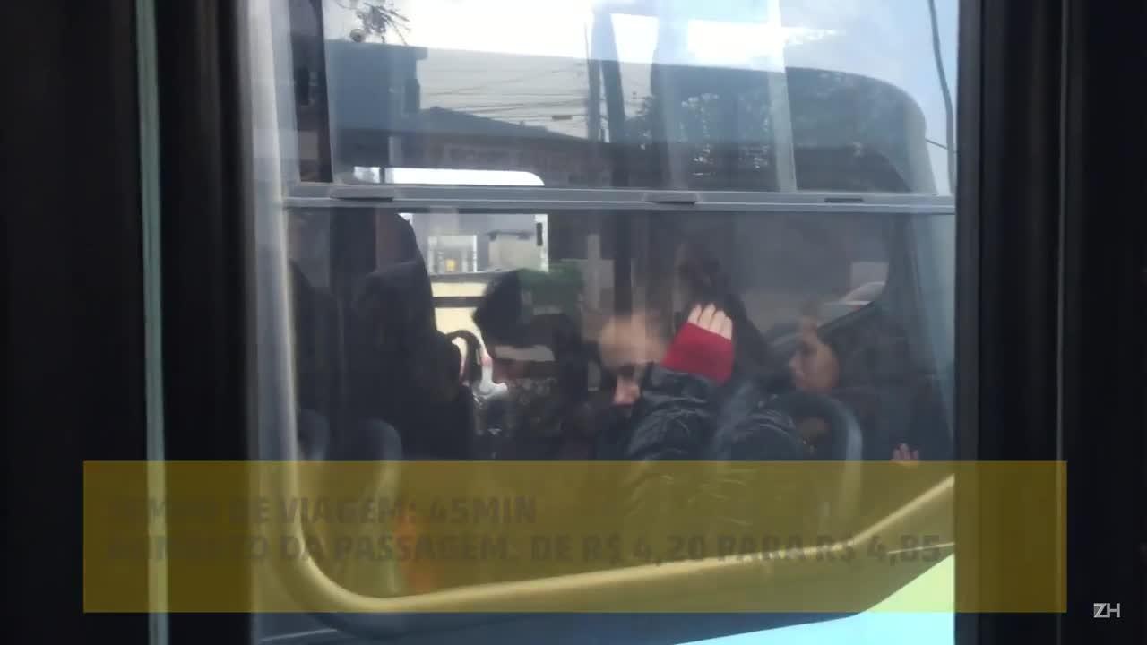 Blitz do transporte: Cachoeirinha/Porto Alegre
