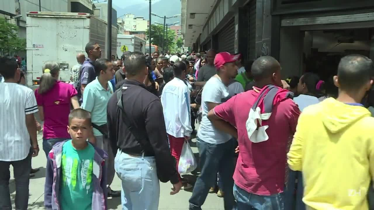 Escambo para driblar escassez na Venezuela