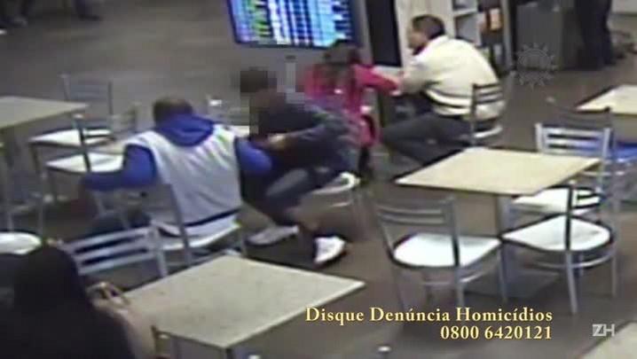 Polícia busca identificar mulher que estaria envolvida na execução de jovem no aeroporto Salgado Filho