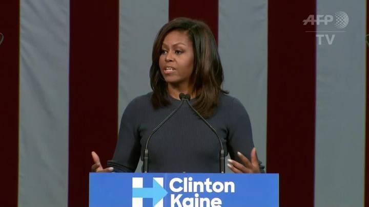 Michelle Obama condena Trump