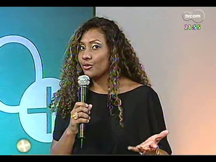 TVCOM Tudo Mais - conheça a madrinha da bateria da Vila Isabel