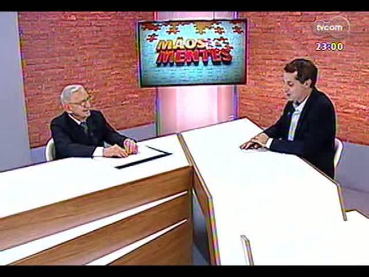 Mãos e Mentes - Fundador da Embraer, ex-presidente da Petrobras e ex-ministro, Ozires Silva - Bloco 1 - 24/03/2013