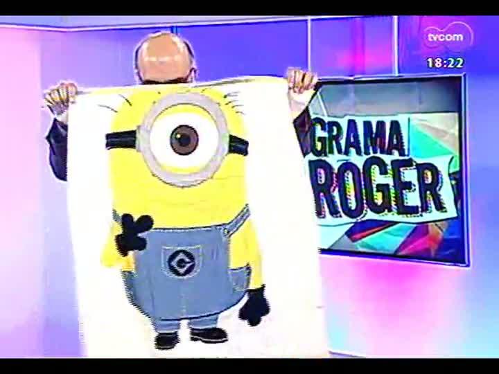 Programa do Roger - Lojinha: brindes e ingressos para \'Meu malvado favorito 2\' - bloco 4 - 09/07/2013