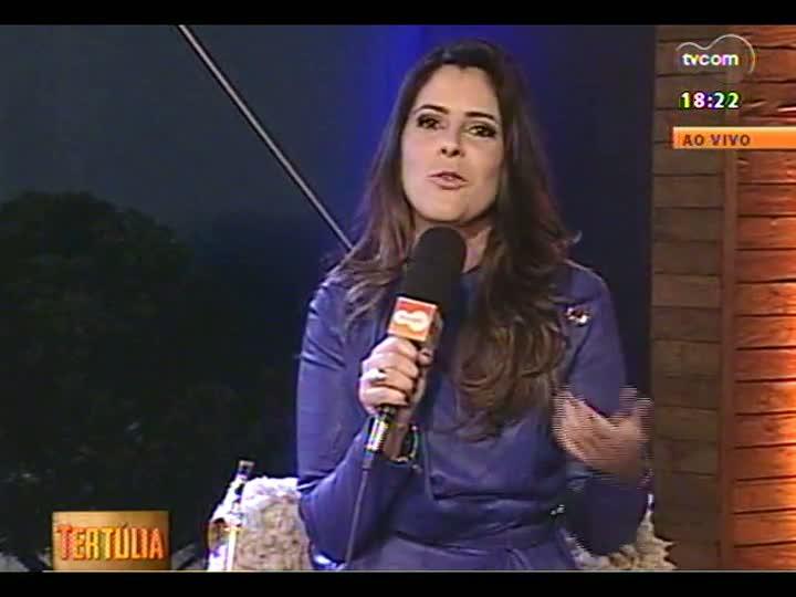 Tertúlia - A música de Daniel Torres e a poesia de Liliana Cardoso - bloco 4 - 29/08/2013