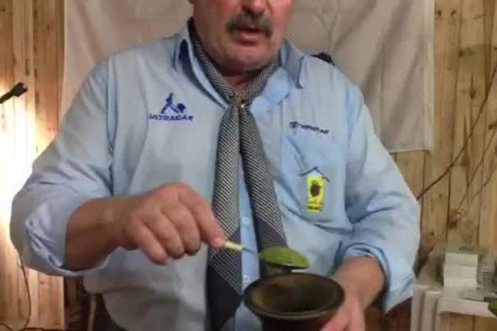 O chimarrão feito em 11 segundos