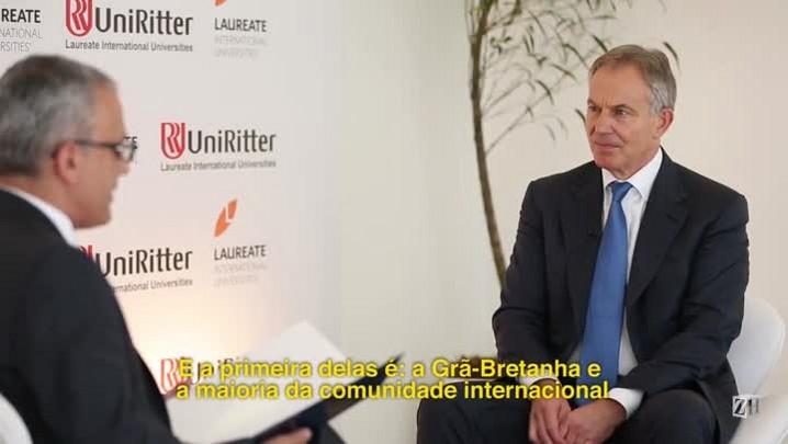 Em Porto Alegre, Tony Blair dá entrevista exclusiva a ZH