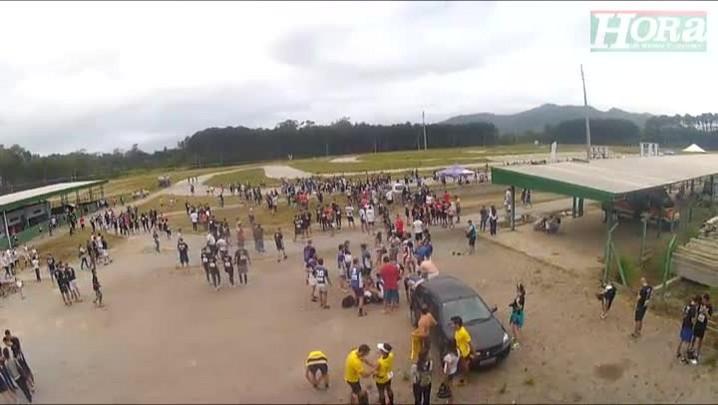 Corrida inspirada em exercícios militares reúne mais de 800 pessoas em Florianópolis