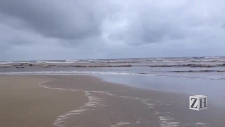 Boletim do tempo: domingo amanheceu chuvoso no litoral norte