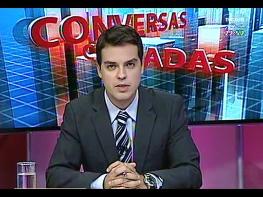 Conversas Cruzadas - Os problemas de estrutura do Corpo de Bombeiros do Estado - Bloco 3 - 26/02/2014