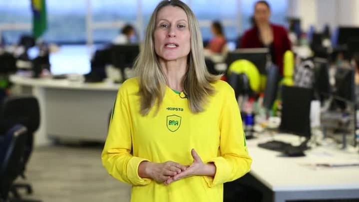 Estela Benetti faz seu palpite para Brasil x Colômbia