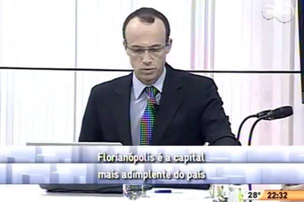Conversas Cruzadas - Florianópolis é a capital mais adimplente do país - 3º Bloco - 10/11/14