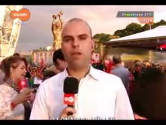 TVCOM 20 Horas - O lançamento oficial da estátua do Fernandão - Parte 1 - 17/12/2014
