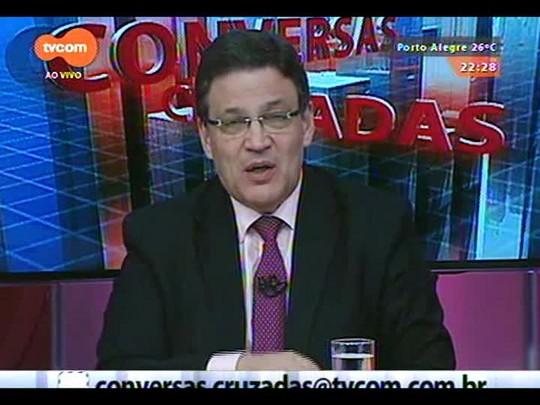 Conversas Cruzadas - Debate sobre os reflexos do Dólar na economia - Bloco 2 - 17/12/2014