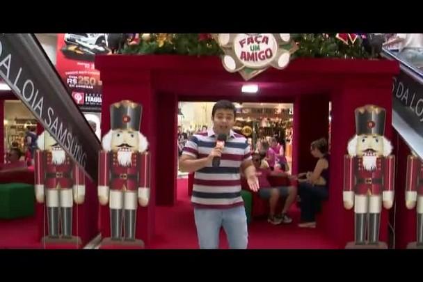 TVCOM Tudo+ - O clima de natal na Capital - 25.12.14