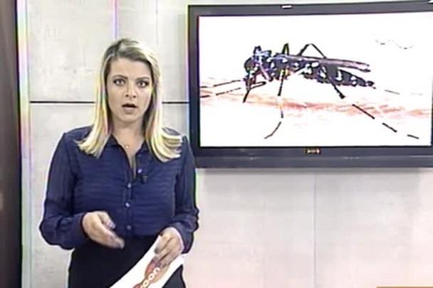 TVCOM 20h - Confirmado quinto caso de dengue em Itajaí - 16.1.15