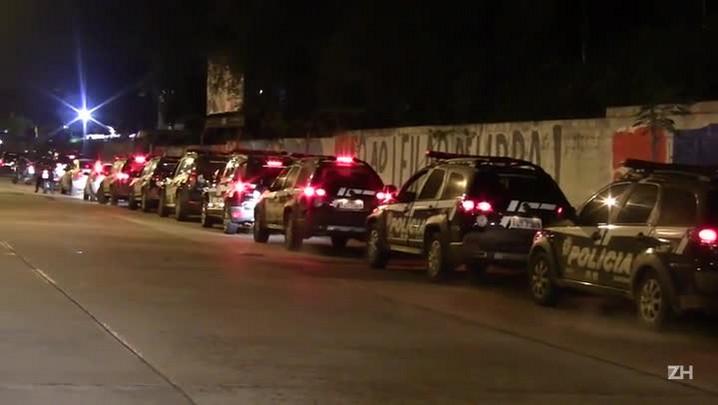 Polícia faz operação para para desarticular uma quadrilha de traficantes