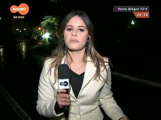 TVCOM 20 Horas - Defesa Civil do estado alerta para risco de novos alagamentos na região metropolitana e cidades banhadas pelo Rio Uruguai - 14/07/2015