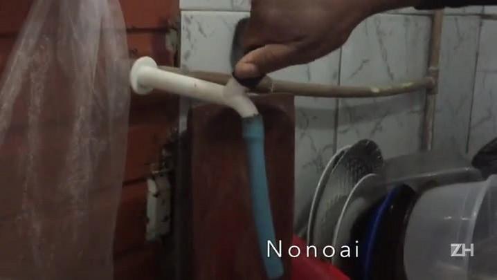 Falta d\'água altera rotina e afeta serviços na Capital