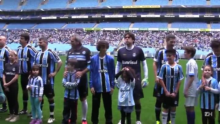 Grêmio de 95 faz show em comemoração ao bi da Libertadores