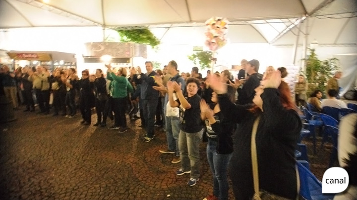 Protesto pede que Feira do Livro de Caxias se mantenha na Praça Dante